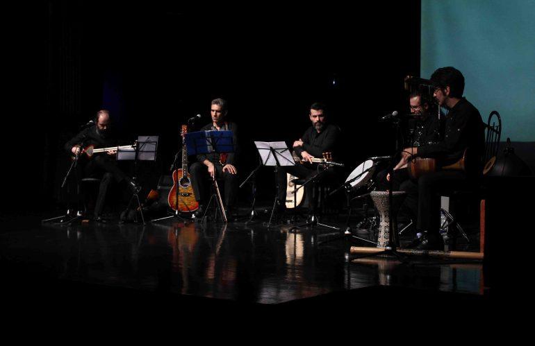 کنسرت موسیقی عامیانه ایرانی برگزار شد